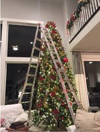 decorating a 12 ft tree with 12 foot tree