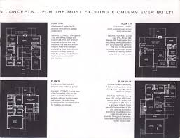 Eichler Models Eichler Brochures Laurel Hill