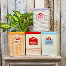 kitchen flour canisters metal kitchen flour canisters ebay