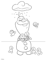 olaf coloring pages awesome coloring pages template