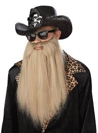 Duck Dynasty Halloween Costumes Amazon California Costumes Sharp Dressed Man Beard Blonde