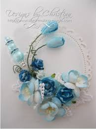 Teal Corsage Small Flower Corsage