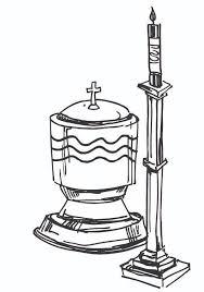 catholic baptism symbols clip art 59