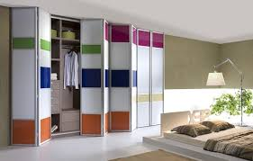 Bi Fold Doors For Closets Astounding Folding Closet Doors For Bedrooms Ideas Ideas House