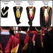 academic hoods graduation shop the different designs and details of academic hoods