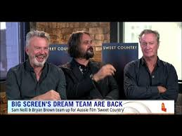 film up country bryan brown and sam neil film sweet country recieves 6 minute
