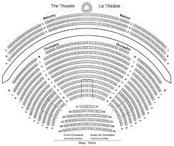 Amphitheater Floor Plan by Seating Plans National Arts Centre
