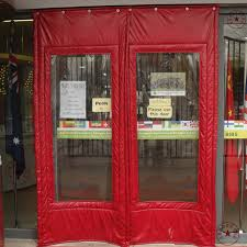 Thermal Curtains For Winter Customize Cotton Thermal Insulation Curtain Door Canvas Windproof