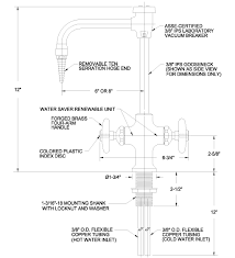 Laboratory Faucet Water Faucet L411vb Single Faucet With 6
