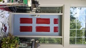 Paint Front Door Painted Front Door In A Bold Red Color Magic Brush