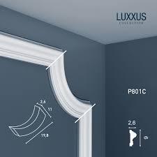 Stucco Decorative Moldings Stucco Element For Moulding Cornice Orac Decor Corner P801c Luxxus