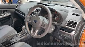 subaru thailand subaru xv interior at the 2015 thailand motor expo indian autos blog
