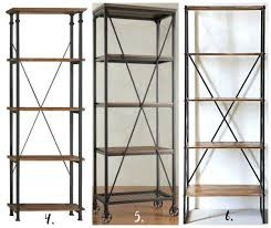 beautiful u0026 affordable modern industrial shelving options