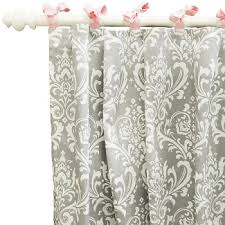 Gray And Pink Curtains Damask Curtains Pink Curtains Gray Curtains Nursery Curtains