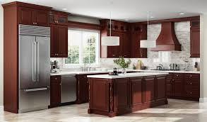 blue kitchen cabinets with granite countertops gorgeous kitchen design ideas for cherry cabinets