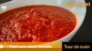 comment cuisiner les tomates s h s comment faire une sauce tomate