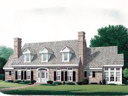Cape Cod House Plans The House Plan Shop - Cape cod home designs