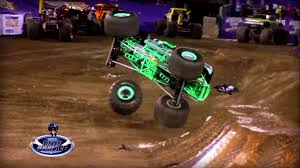 monster truck videos on youtube best of monster jam trucks accidents crashes jumps backflips