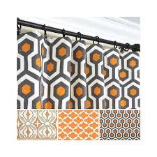 enchanting orange and gray curtains and best 25 burnt orange