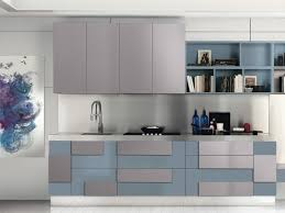cuisine gris et bleu 115 exles of kitchens and ultra modern part 1 anews24 org