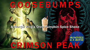 halloween horror nights burger king munchies u0026 a movie 77 goosebumps crimson peak u0026 burger king u0027s