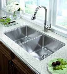 Double Stainless Steel Kitchen Sink by Impressive Undermount Stainless Kitchen Sink 32 Inch Stainless