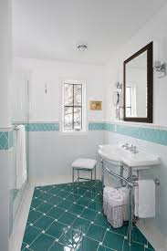 tile floor patterns powder room traditional with none