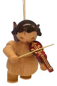 tree ornament with violin colors floating 5 5