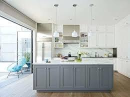 island home decor gray base kitchen cabinets open kitchen with white cabinets and