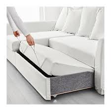 White Sofa Bed Holmsund Sleeper Sectional 3 Seat Ransta White Ransta White