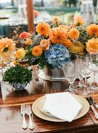 Fall Arrangements For Tables Easy Fall Centerpieces Fall Table Decorations