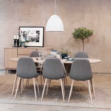 Restaurant Esszimmer In Hattingen Esstisch Mit Stühlen Im Retro Look Mit Ovalem Tisch 7 Teilig