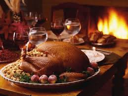 what time do you eat thanksgiving dinner walb south