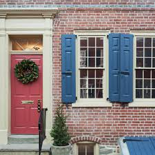pretty red front door home renovations image credit and contact
