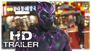 Black Panther Marvel Halloween Costume Black Panther Trailer 3 Extended 2018 Marvel Superhero