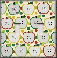 Kitchen Apples Home Decor Switch Plate Covers Apples Collection On Ebay