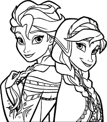 sisters frozen coloring page bell rehwoldt com