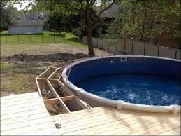 above ground swimming pool prices installed u2014 home landscapings