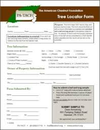 report a tree the american chestnut foundation