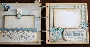baby boy scrapbook album mini album with some great ideas clever paper crafting ideas