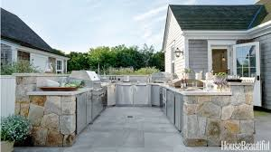 summer kitchen ideas nice ideas blue outdoor kitchen stunning