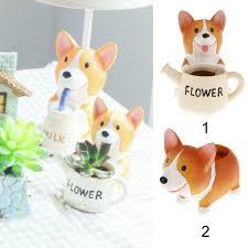 animal planters new cute dog design resin pot planter for garden flower