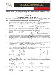 Speed Velocity And Acceleration Worksheet With Answers Physics Galaxy Mechanics Worksheet Acceleration Velocity