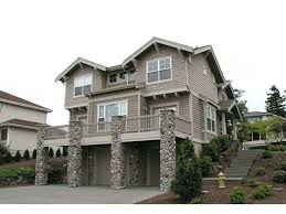front sloping lot house plans sloping house plans sloping lot house plan sloping site house plans
