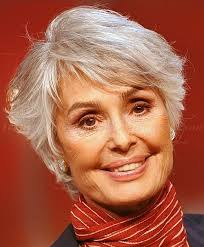 stylish cuts for gray hair short hairstyle for gray hair i ll keep this for down the road if