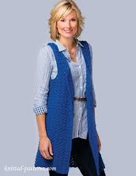 free women u0027s vest crochet pattern