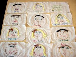 sewing embroidery with kids projects