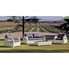 salon fauteuil canape salon de jardin avec table basse canapé 2 places 2 fauteuils