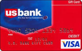 bank gift cards gift card us bank visa united states of america us bank col us