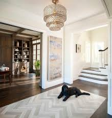 entry foyer tile ideas entry traditional with wall art oak floor